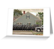 Louisiana Tires Greeting Card