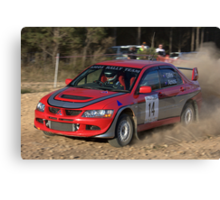 Rally of Lithgow (Car 14) Canvas Print