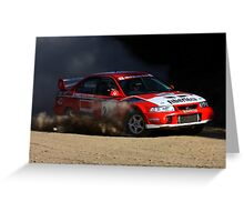 Rally of Lithgow (Car 27) Greeting Card