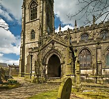 Parish Church of Saint Thomas à Becket, Heptonstall by Steve  Liptrot