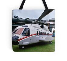 Sikorsky S-92 … Parked @ The Wanderers Cricket Stadium Tote Bag