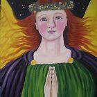 Archangel Raphael by Heidi Norman