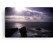 Purple Rocks Canvas Print