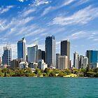 Sydney Skyline by Robert Scammell