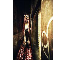 Lomo - Alley Photographic Print