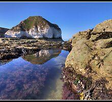 Flamborough head rock pool by Shaun Whiteman