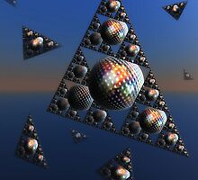 "'Pyramids and Sphere's "" by debsphotos"