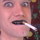 """tranny-boy smokes some"" by Danny Hennesy"