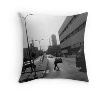 Urban Glimpse Throw Pillow