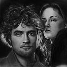 Twilight- Robert Pattinson- Kristen Stewart by Carliss Mora