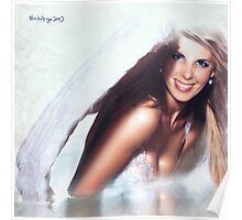 angel smile Poster