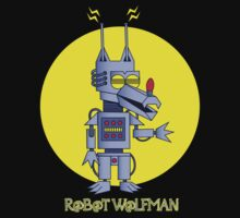 Robot Wolfman by Dr-Twistid
