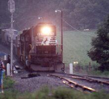 SD60 at Melrose, North Carolina by GMooneyhan