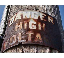 High Voltage II Photographic Print
