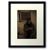 Model shot 3 Framed Print