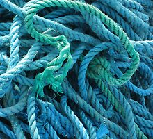 Blue Rope by Orla Cahill