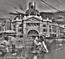 Flinders Street Station by Naomi Frost