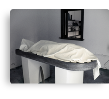 Mortuary Canvas Print