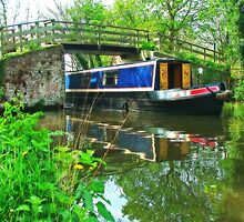 Barge at Dod`s Bridge by Colin J Williams Photography