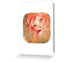 doll Greeting Card