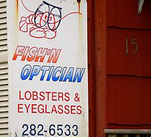 Fish'n Optician by artisandelimage