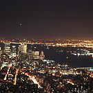 Night View From Empire State Building by VanillaDolphin