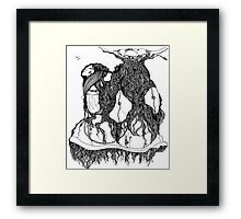 The Empress is attached to her Wardrobe 130 views Framed Print