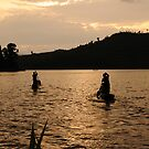 Finished for the Day - Lake Bunyoni, Uganda by Derek McMorrine
