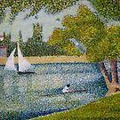 The Seine at La Grande Jatte by Orla Cahill