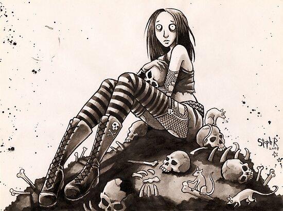 Skulls by Steph Ruple