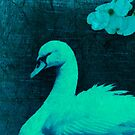 DETAIL CROP 100% from---NIGHT SWAN by DALE CRUM