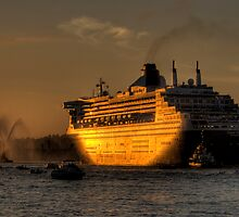 Queen Mary 2 by Nicolas Triantafillou