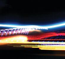Rainbow Lights Leaping by ekto23