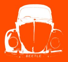 VW Beetle Shirt - White by melodyart