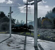 Easter Cross up in Scotts Valley by realschatan