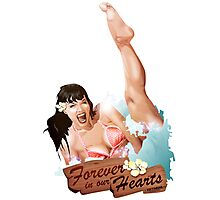 Betty Page Photographic Print