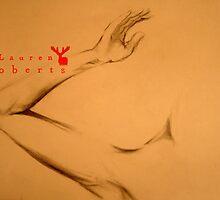 Dancing Arm by LAUREN ROBERTS