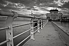 Stormy Pier by Alistair Wilson