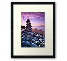 Swansea, Tasmania. Framed Print