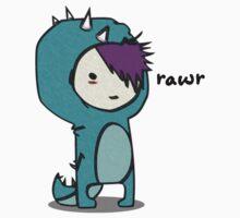 Dinosaur goes Rawr! by Ryadasu