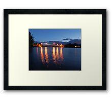 Dumaresq Bridge on Manning  Framed Print