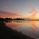Harrington Broadwater Sunrise by Graham Mewburn