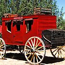 Red Stagecoach by Kathy Gonzales