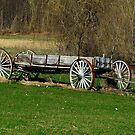 The Olde Vermont Wagon by Deborah  Benoit