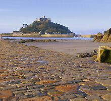 Cornwall: St Michael's Mount - The Causeway by Rob Parsons