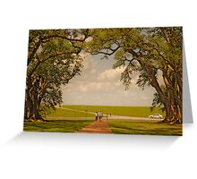 Oak Alley Plantation Greeting Card