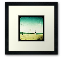 These Days Are Gone Framed Print