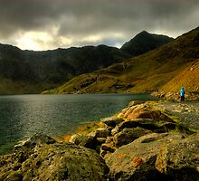 Stormclouds, Snowdonia National Park by Thomas Peter