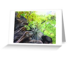 Zions Canyon # 4 Greeting Card