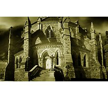 Gothic Detail - Library of Parliament Photographic Print